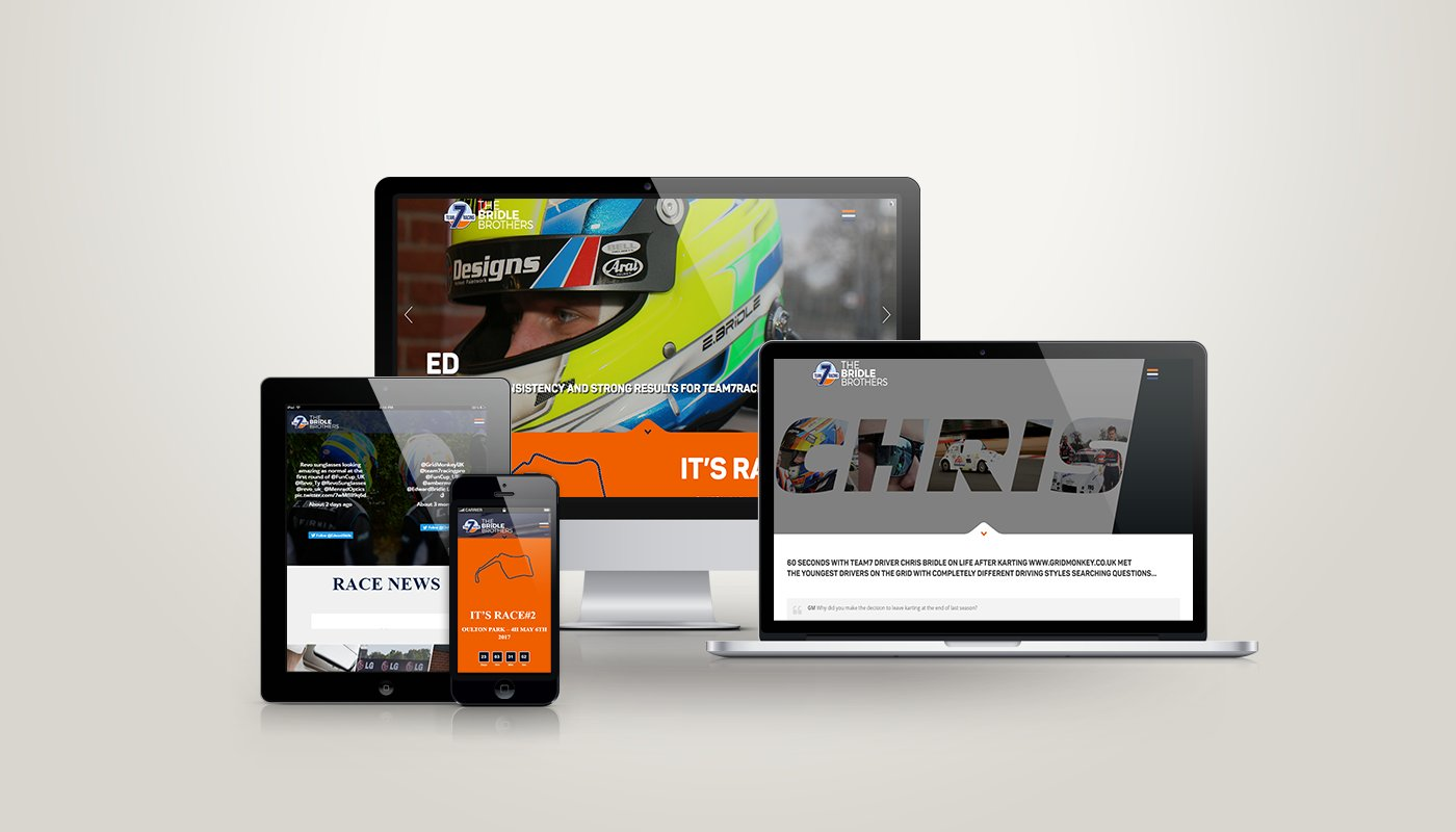 Signature Web Development for Bridle Racing by #KDA17 Kent Digi Awards Finalists
