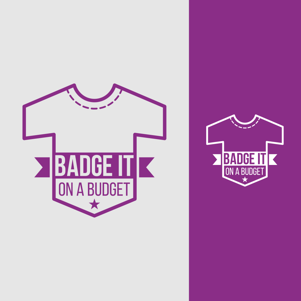 Great ideas like BadgeItOnABudget.com start with a logo design by Signature Image Consultants