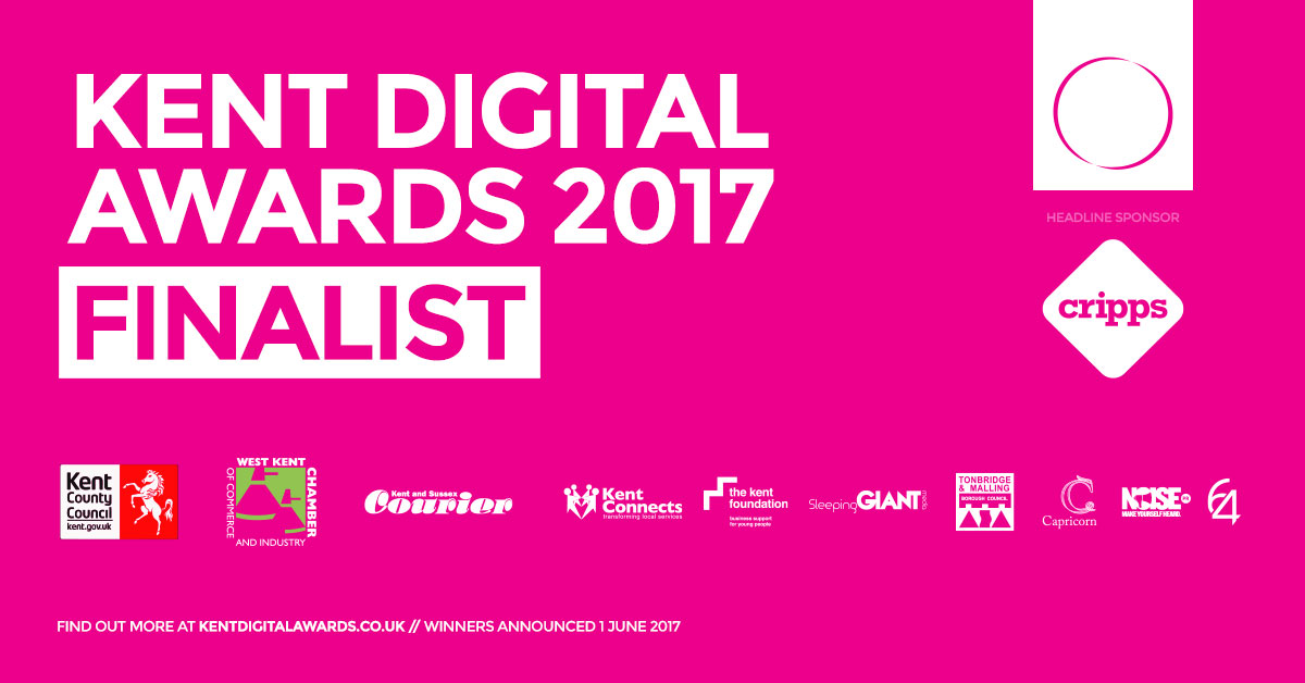 #KDA17 Kent Digi Awards Finalists: Bridle Racing, Signature Web Designers Kent